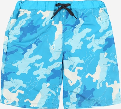 NAME IT Zwemshorts 'Mateo' in de kleur Aqua / Wit, Productweergave