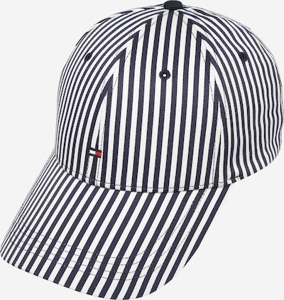 TOMMY HILFIGER Cap 'BB STRIPES' in dunkelblau / weiß, Produktansicht