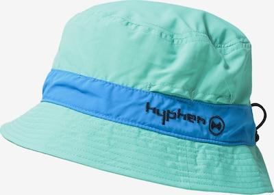 HYPHEN Hut in blau / mint / schwarz, Produktansicht