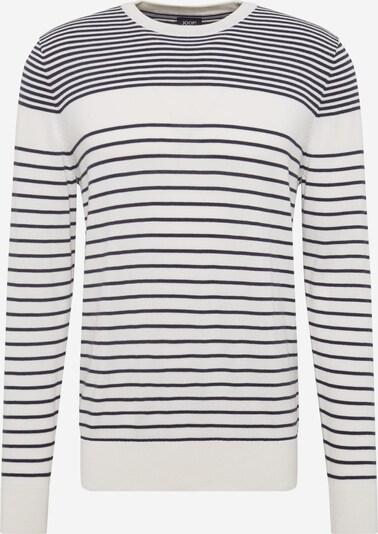 JOOP! Jeans Pullover 'Cyrian' in navy / weiß, Produktansicht