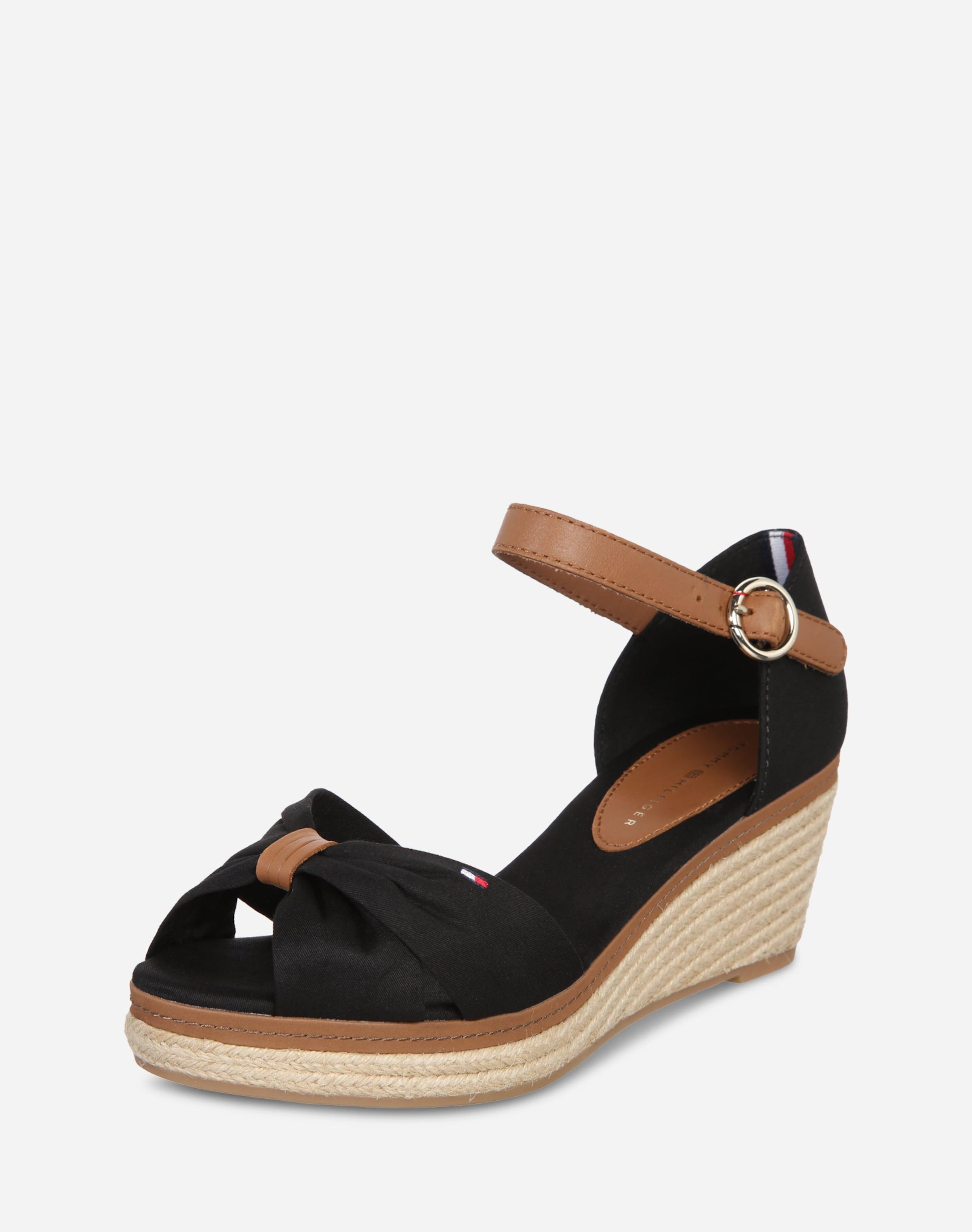 Haltbare Mode billige Schuhe TOMMY HILFIGER   Keilsandale 'Elba' Schuhe Gut getragene Schuhe