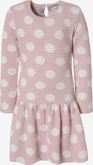 happy girls Sweatkleid in rosa / weiß, Produktansicht