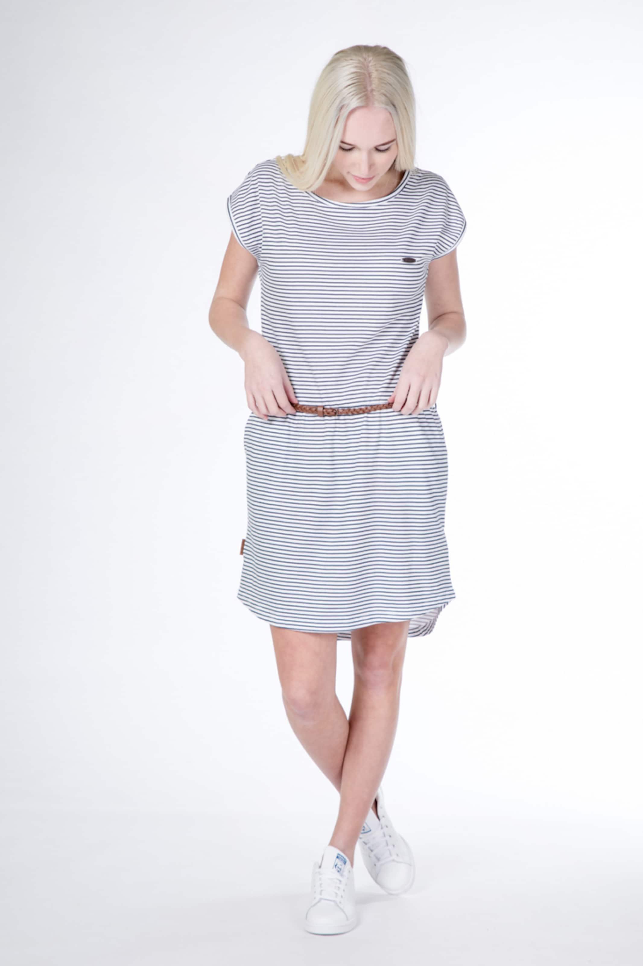 Kleid Kickin In And TaubenblauWeiß Alife 'thea' gfybY76