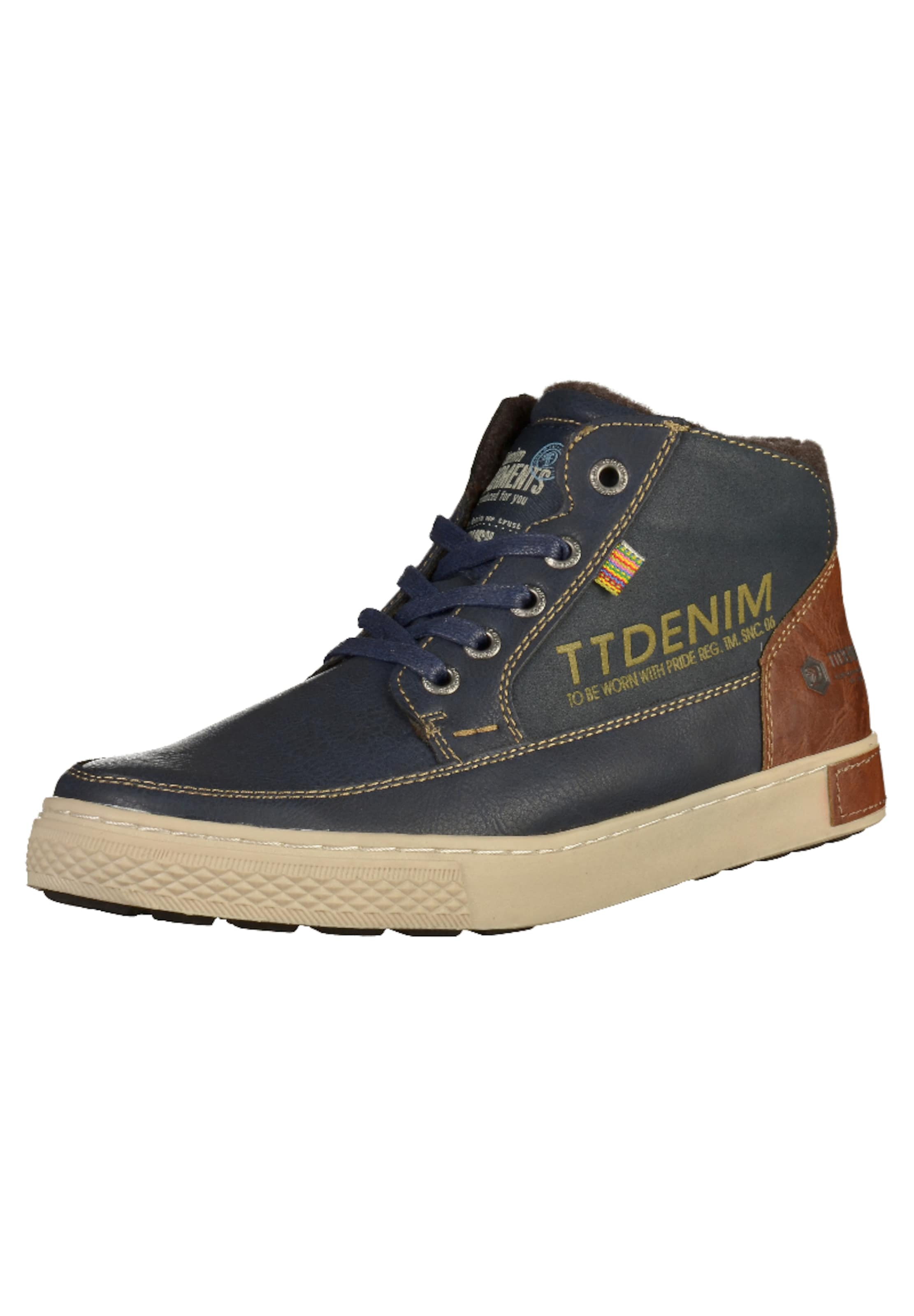 TOM TAILOR Sneaker Verschleißfeste billige Schuhe