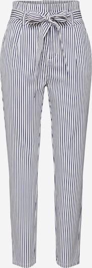 Pantaloni 'Vmeva' VERO MODA pe albastru / alb, Vizualizare produs