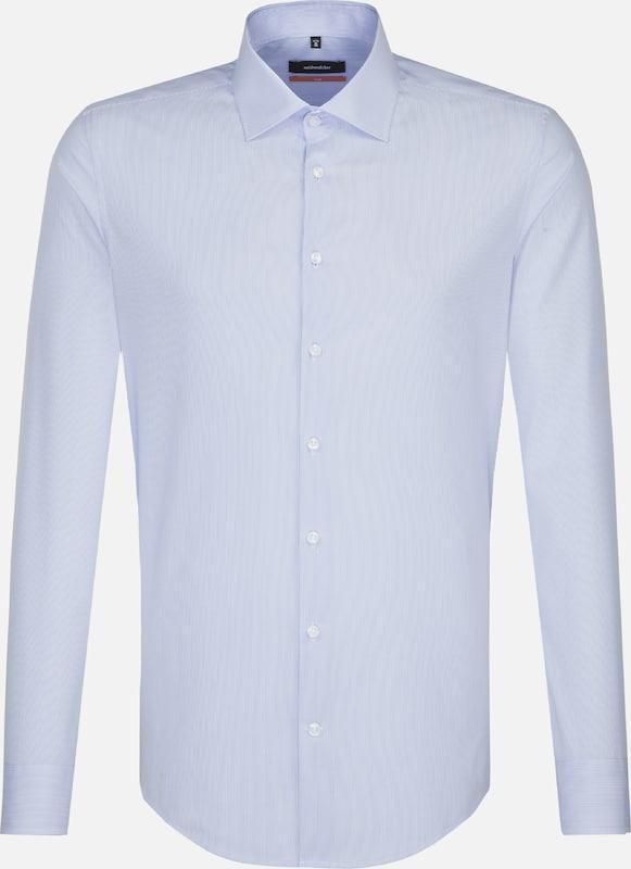 SEIDENSTICKER Business Hemd 'Slim' in hellblau   weiß  Bequem und günstig