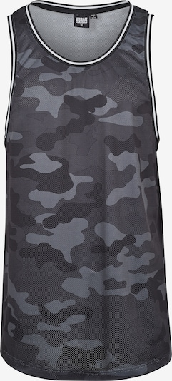 Urban Classics Tričko 'Camo Mesh' - sivá / tmavosivá / čierna, Produkt