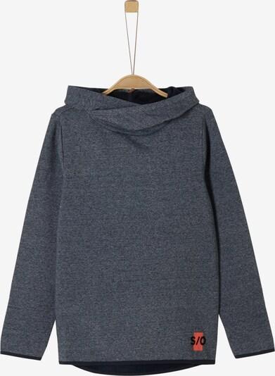 s.Oliver Junior Sweatshirt in dunkelgrau, Produktansicht