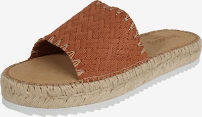 espadrij l´originale Pantolette 'Paloma 2' in cognac, Produktansicht