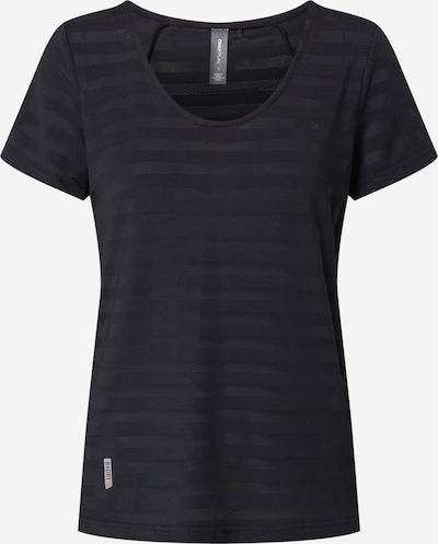 Tricou funcțional ONLY PLAY pe negru, Vizualizare produs