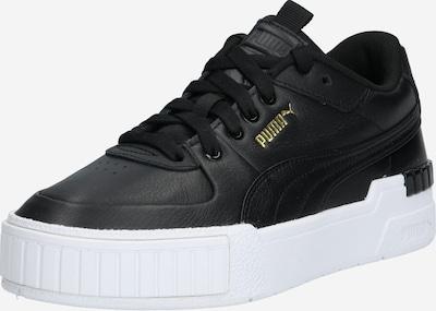 PUMA Baskets basses 'Cali Sport' en noir / blanc, Vue avec produit