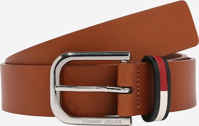 Tommy Jeans Riem 'PIN BUCKLE FLAG INLAY 3.5' in de kleur Bruin, Productweergave