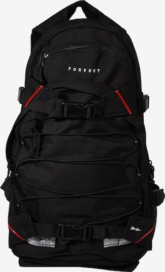 Forvert Rucksack 'Louis' in rot / schwarz, Produktansicht
