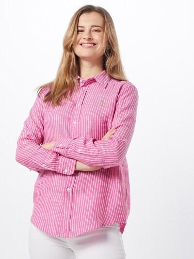 POLO RALPH LAUREN Halenka - pink / bílá, Model/ka