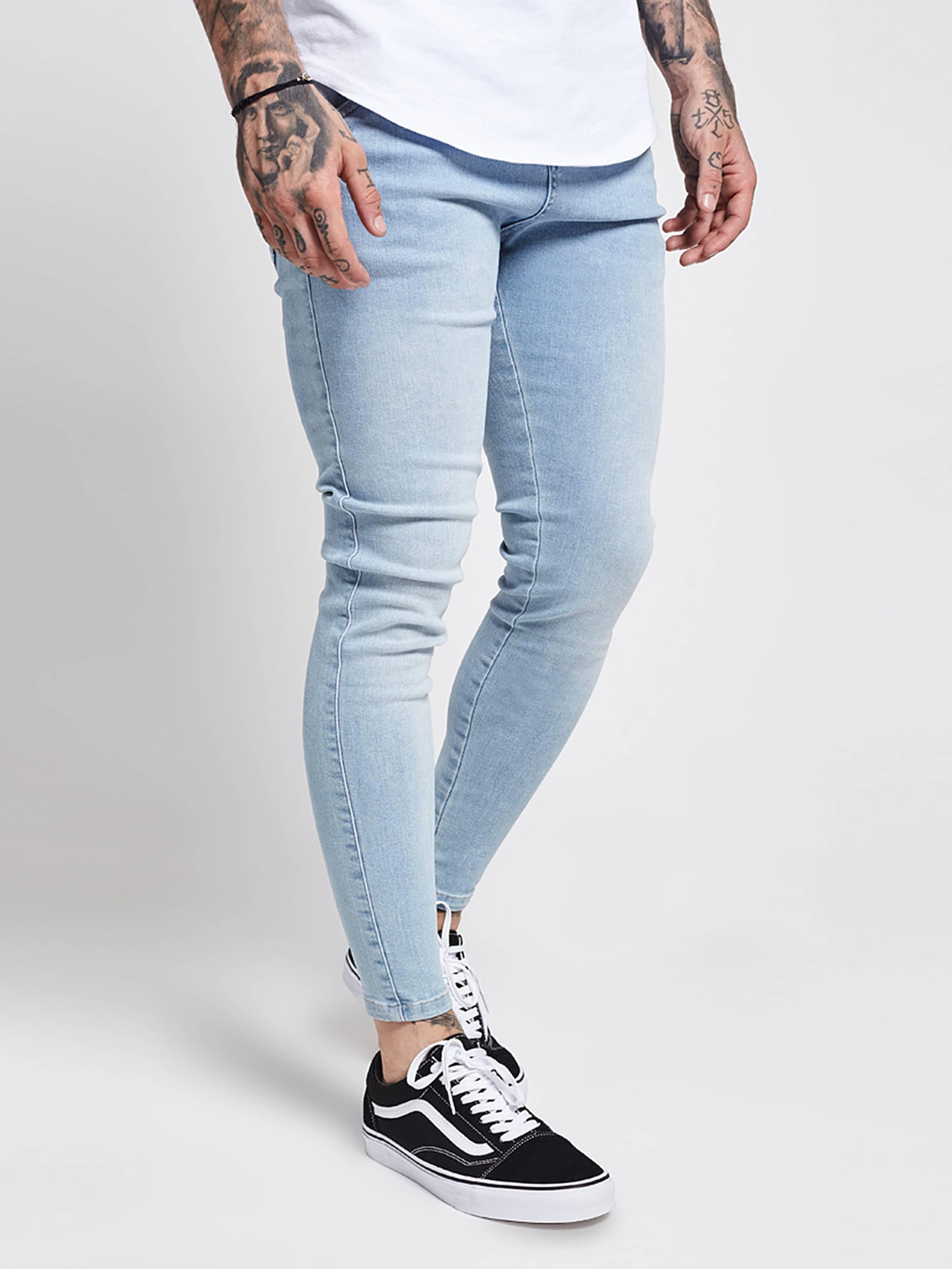 Siksilk In Hellblau Jeans Siksilk Jeans In Hellblau e9IYWEHD2