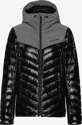 PEAK PERFORMANCE Daunenjacke 'Frost Flannel' in schwarz, Produktansicht