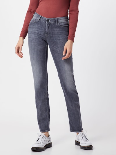 Lee Jeans 'Marion Straight' in grau, Modelansicht