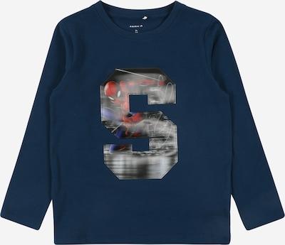 NAME IT Shirt 'SPIDERMAN' in dunkelblau / rot: Frontalansicht