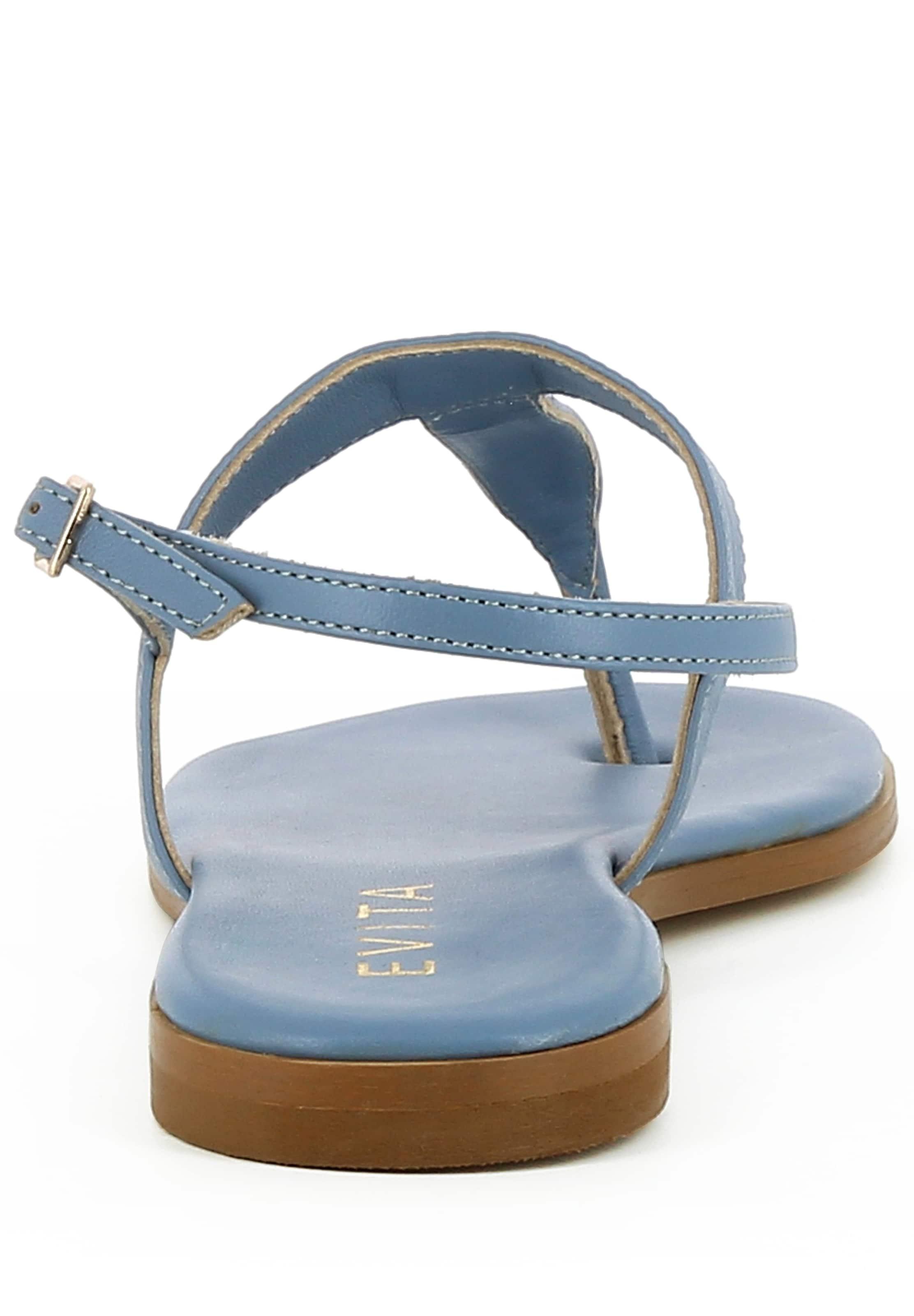 Sandale Sandale 'olimpia' Evita Evita Evita In 'olimpia' In Hellblau Hellblau nOkwN0P8X