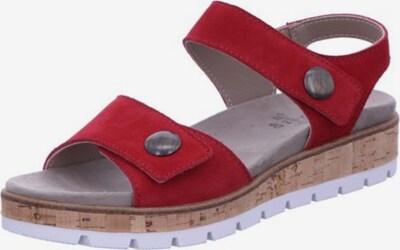 Longo Sandale in rot, Produktansicht