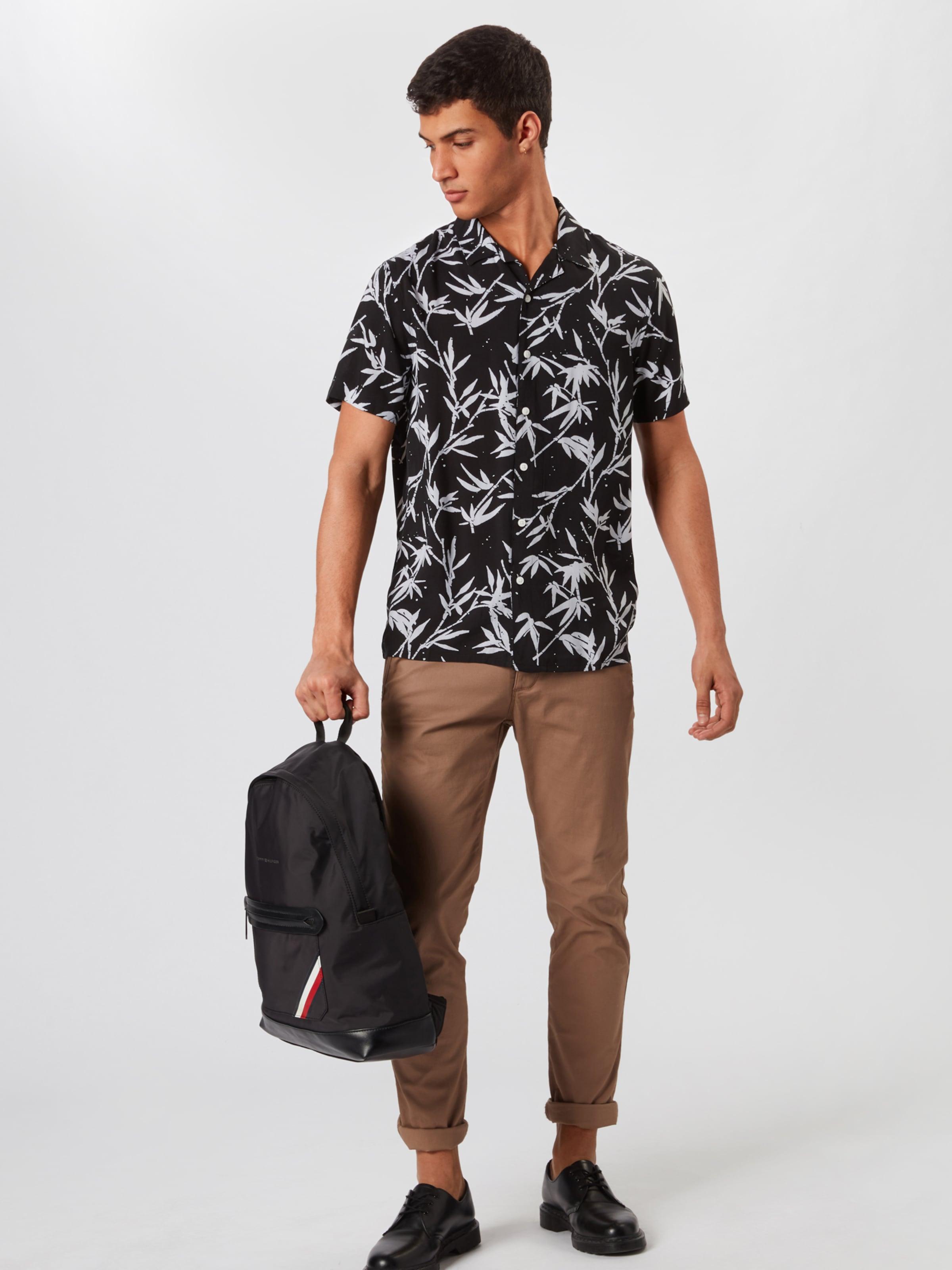 New KhakiSchwarz Look New Hemd In 8P0nXNOZwk