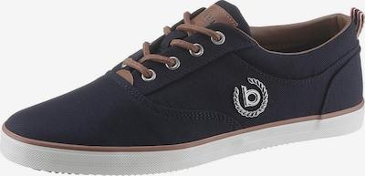 bugatti Sneaker 'Alfa' in dunkelblau / hellbraun, Produktansicht