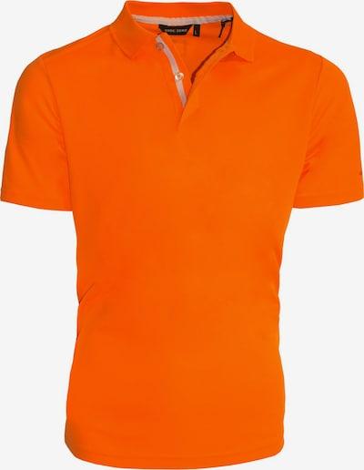 CODE-ZERO Poloshirt in orange: Frontalansicht