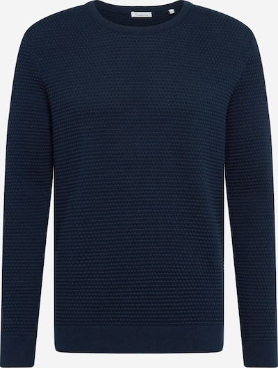 KnowledgeCotton Apparel Pullover 'FIELD' in dunkelblau, Produktansicht
