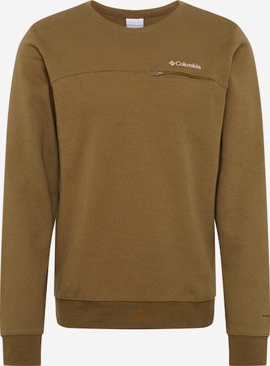COLUMBIA Sportsweatshirt 'Lodge™ Dbl Knit ' in de kleur Olijfgroen, Productweergave