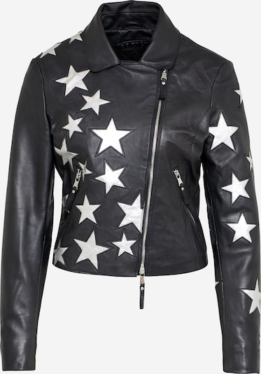 BE EDGY Lederjacke 'SONJA STARS' in schwarz, Produktansicht