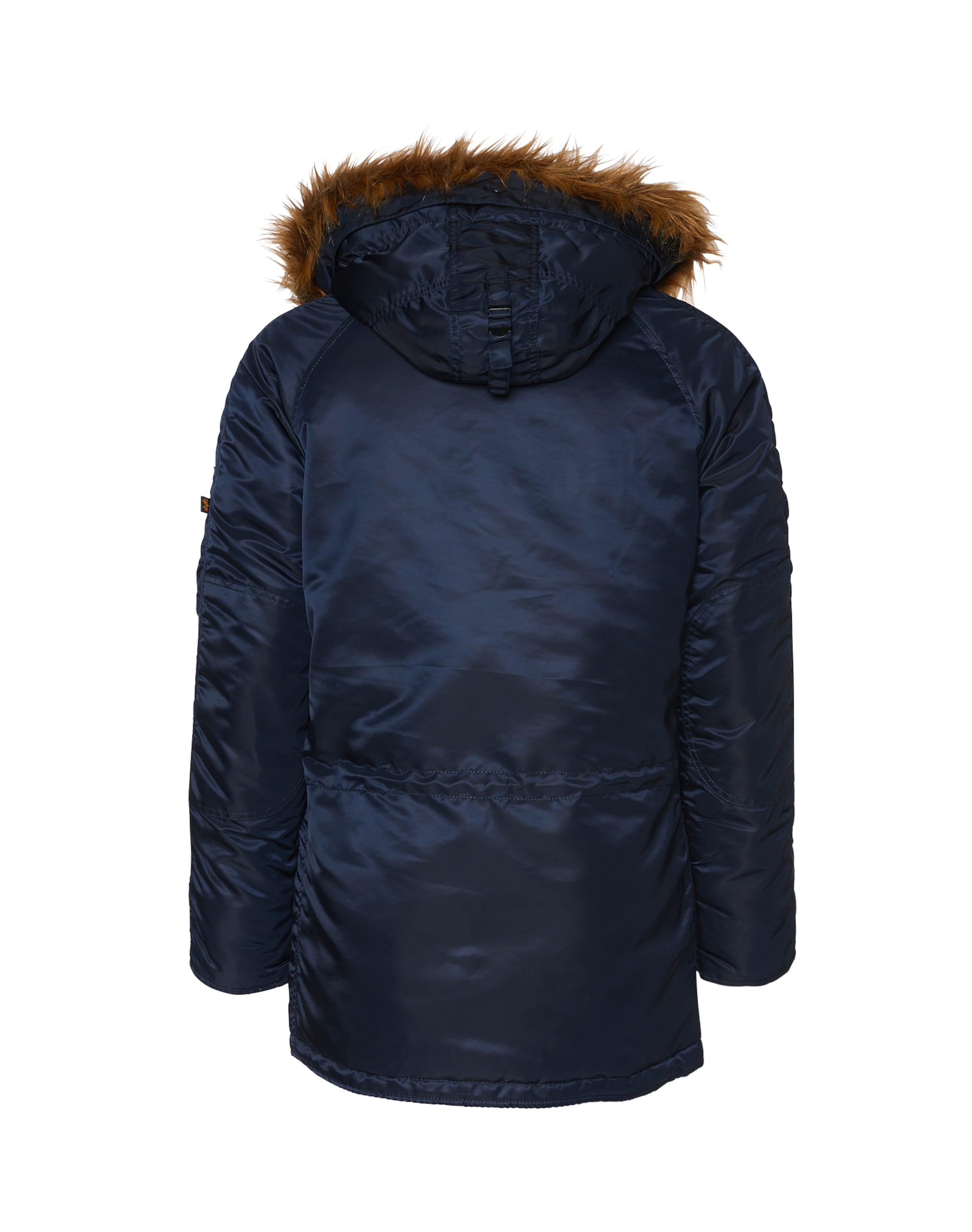 Industries Parka D'hiver Foncé Bleu Alpha En dxCBoe