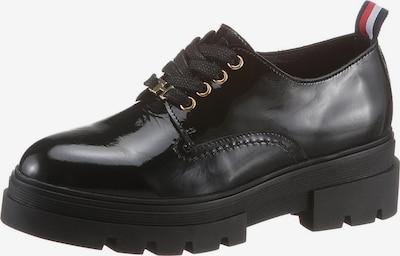 TOMMY HILFIGER Šněrovací boty - černá, Produkt