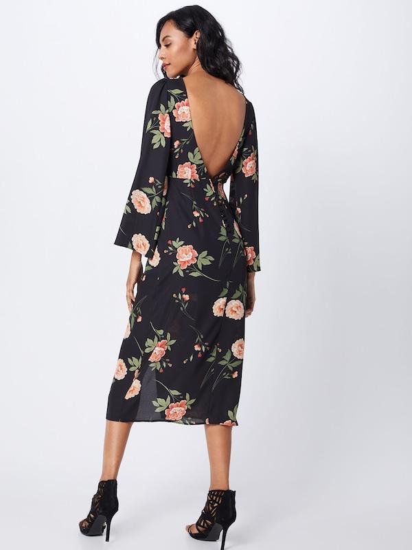 Robe 'quintin' En De Fashion Union Mélange CouleursNoir fy76bgYv