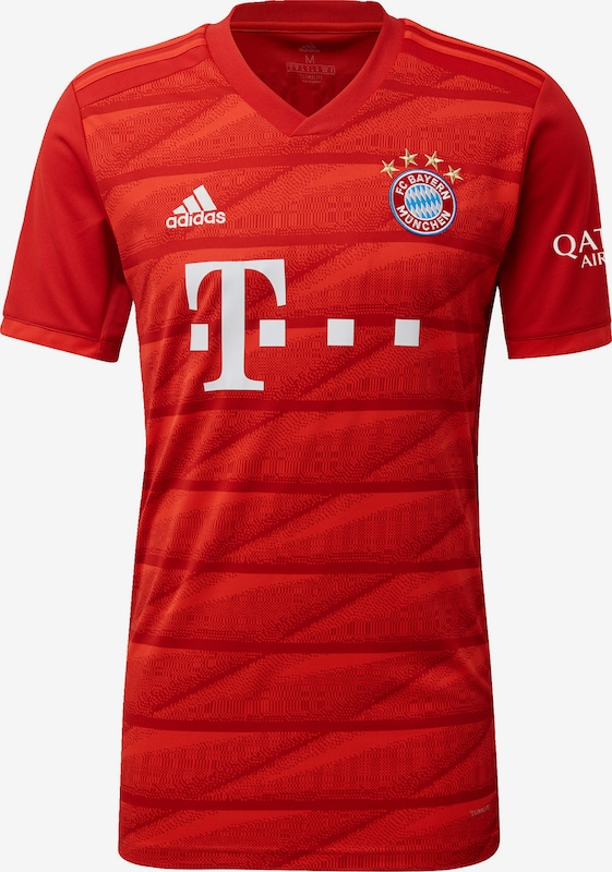 Inaccesible Multitud Inyección  ADIDAS PERFORMANCE Tricot 'FC Bayern München' in Rood / Watermeloen rood    ABOUT YOU