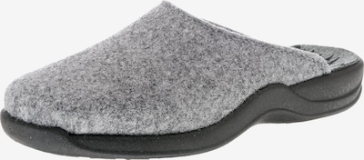 ROHDE Pantoffeln 'Vaasa-D' in grau / basaltgrau, Produktansicht