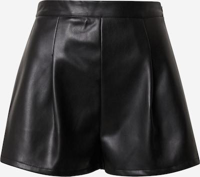 Missguided Pantalon à pince 'FAUX' en noir, Vue avec produit
