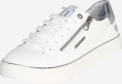 Dockers by Gerli Ниски сникърси в сребърно / бяло, Преглед на продукта