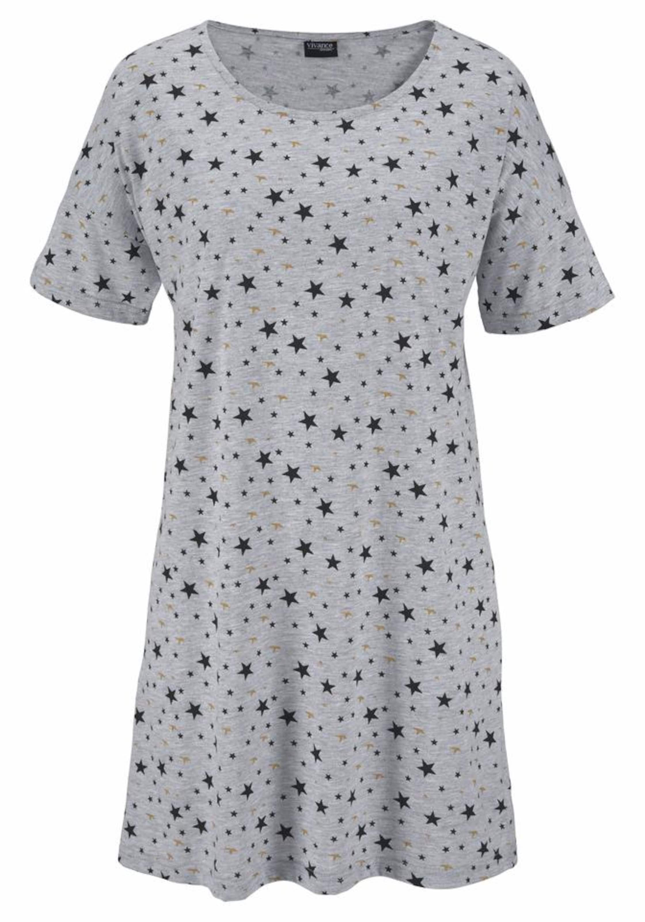 VIVANCE Dreams Nachthemd kurz (2 Stück) Preis Neu Zu Verkaufen UHdSW7D