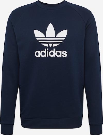 ADIDAS ORIGINALS Sweater majica 'Trefoil Crew' u mornarsko plava / bijela, Pregled proizvoda