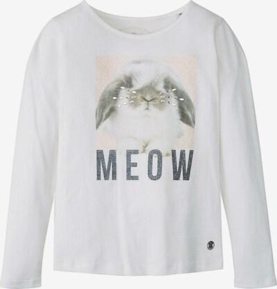 TOM TAILOR T-Shirt Langarmshirt mit Foto-Print in weiß, Produktansicht