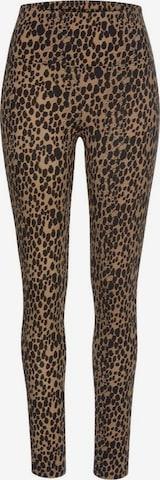 BUFFALO Leggings in Schwarz