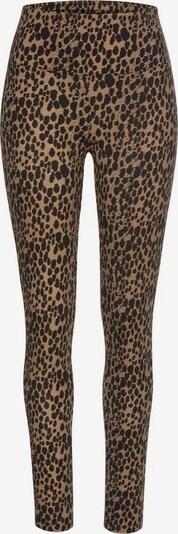BUFFALO Leggings in braun / schwarz, Produktansicht