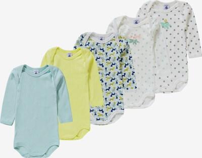 PETIT BATEAU Bodies in blau / gelb / weiß, Produktansicht