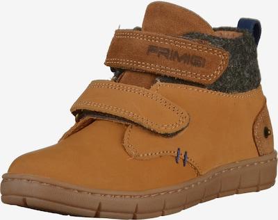 PRIMIGI Chaussure basse en cognac / gris foncé, Vue avec produit