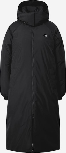 Palton de primăvară-toamnă LACOSTE pe negru, Vizualizare produs