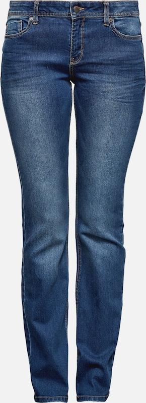 Q S designed by Jeans 'Catie' in Blau denim  Neuer Aktionsrabatt