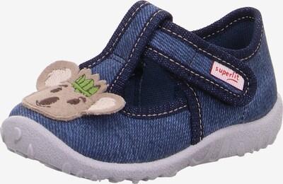 Papuci de casă 'SPOTTY' SUPERFIT pe bej / albastru închis, Vizualizare produs