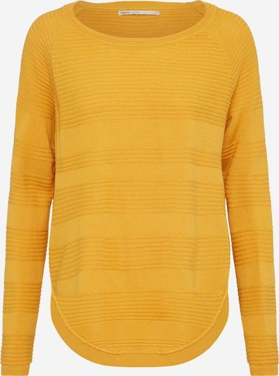 ONLY Sweter 'CAVIAR' w kolorze żółtym: Widok z przodu