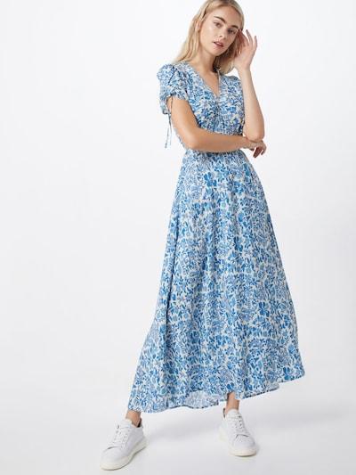 POLO RALPH LAUREN Sukienka w kolorze aqua / białym: Widok z przodu