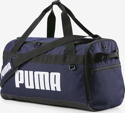 PUMA Sporttasche in dunkelblau / schwarz / weiß, Produktansicht